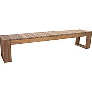 Bank Max Old Teak, H 455 x B 2200 X T 400 mm