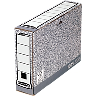 Bankers Box® archiefdozen, collectie met grijze kleur, voor A4 formaat, rug van 80 mm, 10 stuks