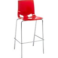 Barkruk 'Fondo', rood