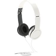 Basic Kopfhörer, mit Kabel, faltbar, isoliert Außengeräusche, weiss