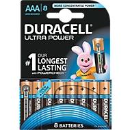 Batterijen ULTRA POWER DURACELL®, Micro AAA, 8 stuks