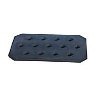 Bauer Lochrost für PE-Auffangwannen, aus Kunststoff, 600 x 400 x 170 mm
