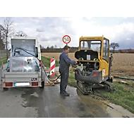 BAUER MT 450 brandstoftank, toegankelijk per auto, afsluitbaar, 450 l inhoud, B 1060 x D 880 x H 890 mm