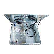 BAUER MT-E 300 brandstoftank, toegankelijk per auto, afsluitbaar, 300 l inhoud, B 1060 x D 880 x H 890 mm