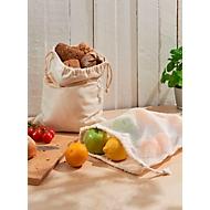 Baumwollbeutel mit Zugband, Natur, Standard, Auswahl Werbeanbringung optional
