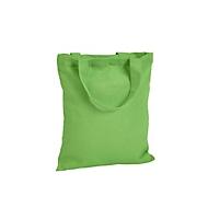 Baumwolltasche Mini - Mini-Format - Baumwolle, Hellgrün, Auswahl Werbeanbringung optional