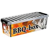 BBQ-Box Sunware Q-line, 9,5 l, inkl. Einsatz für Kleinteile