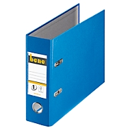 Bene Kunststoffordner DIN A5 blau