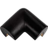 Beschermhoek, 2-benig, zwart