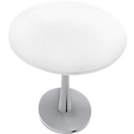 Besprechungstisch PHENOR, rund, H 740 x Ø 1200 mm, weiß