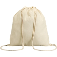 Beutel Hundred, natur, 100 % Baumwolle, 100 g/m², natur