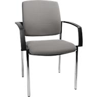Bezoekersstoel SSI PROLINE Visit P1, grijs