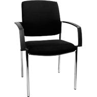 Bezoekersstoel SSI PROLINE Visit P1, zwart