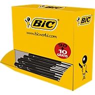 BIC® balpen M10 Voordeelpak zwart 90+10 GRATIS