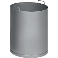 Binnenemmer voor asbak/afvalbak, plaatstaal verzinkt