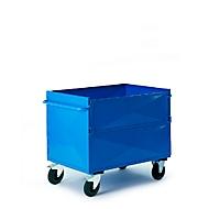 Blechkastenwagen ohne Deckel, 990 x 680 mm