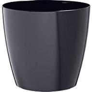 Bloempot zwart, Ø 200 mm, 2 st.