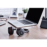 Bluetooth Headset Jabra Evolve 75, binaurale, actieve ruisonderdrukking, Busylight, bereik tot 30 m, tot 15 h