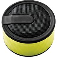 Bluetooth-Lautsprecher GEOMETRIC, 3 Watt Lautsprecher, Bluetooth 2.1, limone