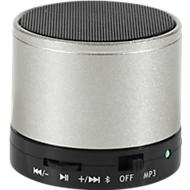 Bluetooth Lautsprecher, mit SD-Kartenslot/AUX/Freisprechfunktion, 3 Watt, silber