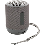 Bluetooth-Lautsprecher Soundboom, IPX4 wasserdicht, grau, WAB 12 x 38 mm