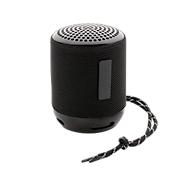 Bluetooth-Lautsprecher Soundboom, IPX4 wasserdicht, schwarz, WAB 12 x 38 mm