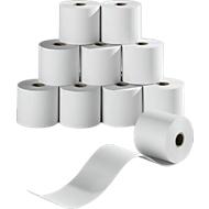 Bobines de papier thermique, 57,5 mm x 60 m, 10 rouleaux