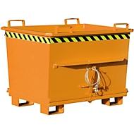 Bodemklepcontainer BKB 700, oranje