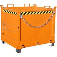 Bodemklepcontainer FB 1000, oranje