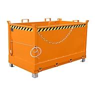 Bodemklepcontainer FB 1500, oranje
