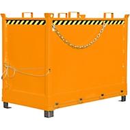 Bodemklepcontainer FB 2000, oranje