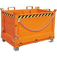 Bodemklepcontainer FB 500, oranje