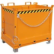 Bodemklepcontainer FB 750, oranje