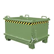 Bodemklepcontainer SB 500, groen