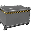 Bodemklepcontainer SB 750, grijs