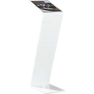 Bodenaufsteller, Acryl, B 220 x T 300 x H 850 mm, weiß