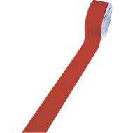 Bodenmarkierungsband, 50 mm breit, rot