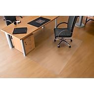 Bodenschutzmatte aus transparentem Makrolon®, 900 x 1200 mm