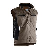 Bodywarmer Jobman 7517 PRACTICAL, gevoerd, kaki, polyester/katoen, M