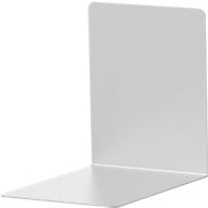 Boekensteunen van aluminium, set van 2 , 100 x 80 x 100 mm