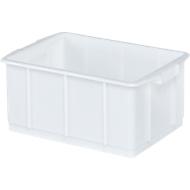 Boîte, plastique, 23L, blanc