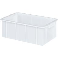 Boîte, plastique, 50L, blanc