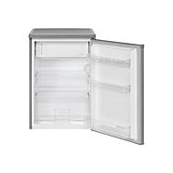 Bomann KS 2184 - Kühlschrank mit Gefrierfach - freistehend - Stainless Steel Look