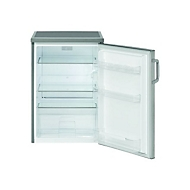 Bomann VS 2195 - Kühlschrank - freistehend - Stainless Steel Look
