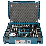 Boren- en bitset, koffersysteem, boren, bithouder, magneethouder, dopsleutels, 66-delig MAKPAC
