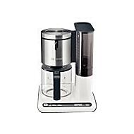 Bosch Styline TKA8631 - Kaffeemaschine - Weiß/Anthrazit
