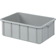 Box, kunststof, 35 l, grijs