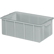 Box, kunststof, 50 l, grijs