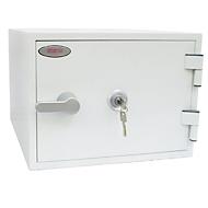 Brandbeveiligingskast FS 1281 K, met sleutelslot, staal, signaal wit RAL 9003, met sleutelslot.
