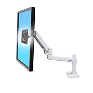 Bras de moniteur LCD Ergotron LX, pr. écrans 32 pouces, pince de fixation, inclinable et pivotant